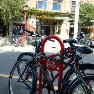 Bike parking: On the kindness of strangers
