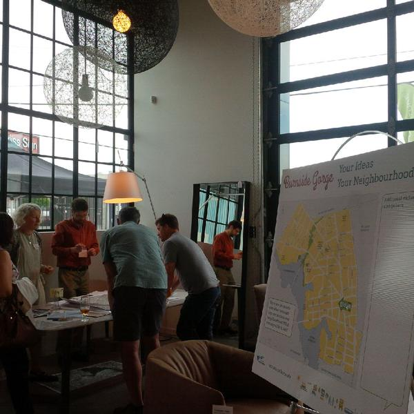 A recent City of Victoria event to gather community input into the Rock Bay neighbourhood had all the essential ingredients I'm talking about here: food, great facilitators, multiple ways for people to contribute, a connector and a meaningful ending.