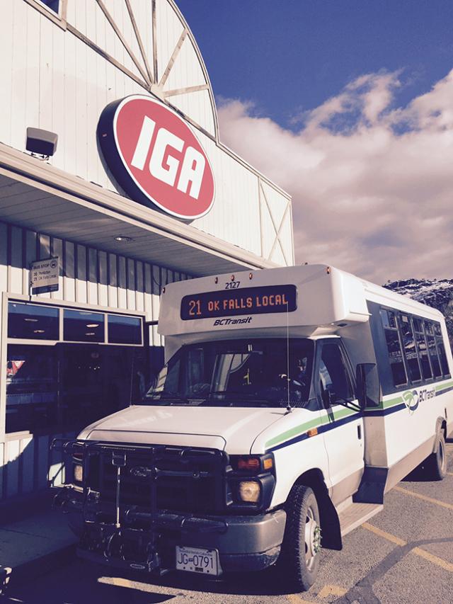 OK Falls Bus