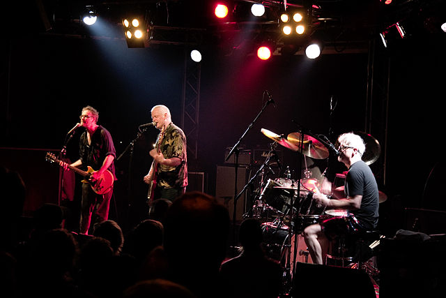 NoMeansNo in Tampere, Finland in 2007, by Mika Hiironniemi.