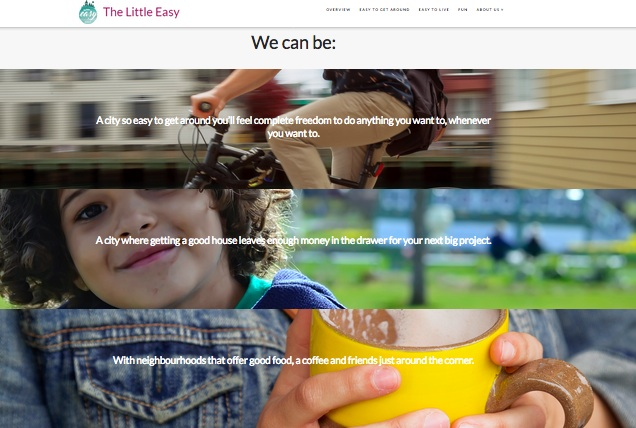 Excerpt from some of the text and images from Halifax's The Little Easy website.